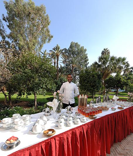 congrès séminaires buffet marrakech
