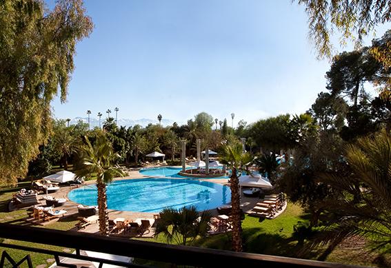 palace vue piscine