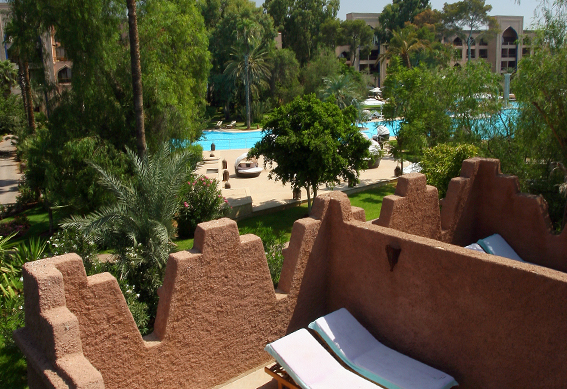 ksar piscine marrakech
