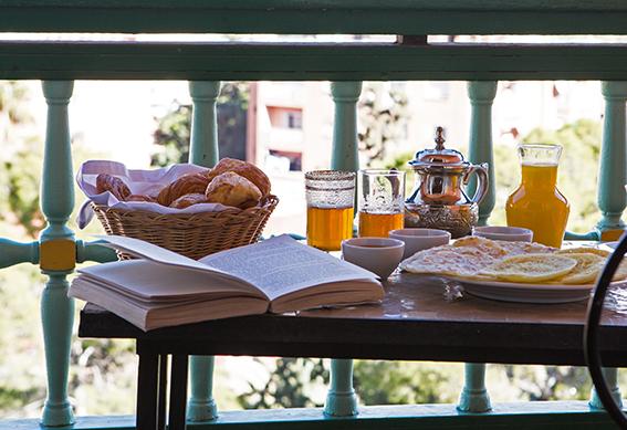petit déjeuner hôtel marrakech