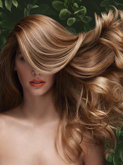 Soins des cheveux pour elle