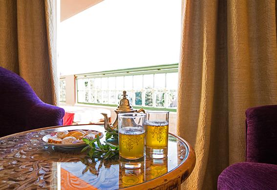 suite deluxe thé hôtel marrakech