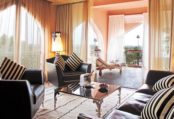 suite supérieure palace marrakech