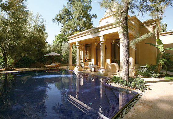 villa 1001 nuits jardin marrakech