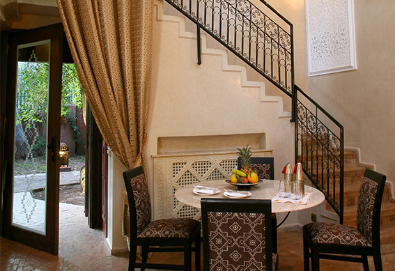 villa amazir salon marrakech