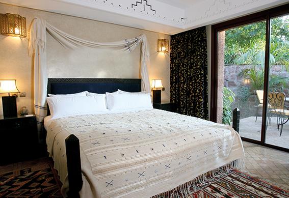 villa amazir chambre marrakech