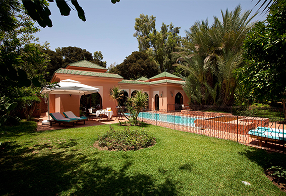 villa andalouse jardin marrakech