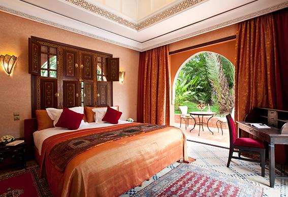 villa andalouse chambre marrakech