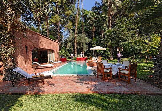 villa berbere piscine marrakech