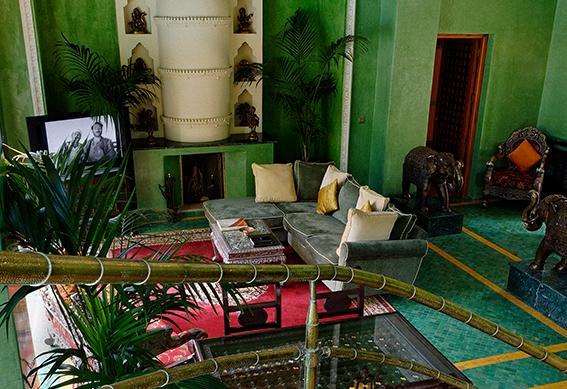villa maharadja salon marrakech