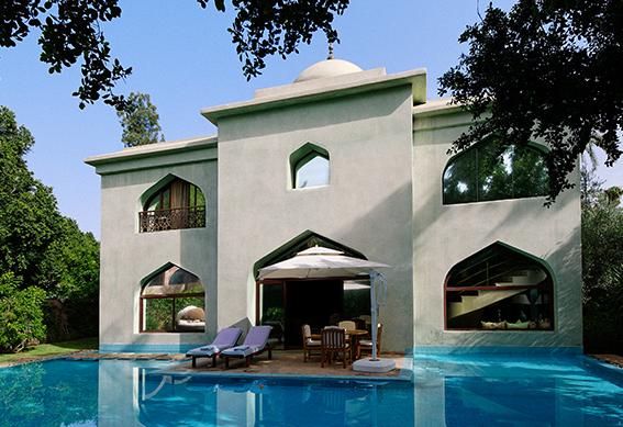 villa maharadja piscine marrakech