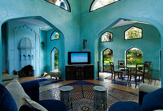 villa persane salon marrakech