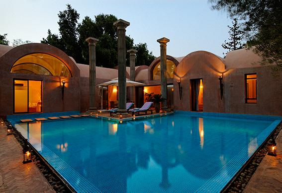 villa-romaine-piscine-marrakech
