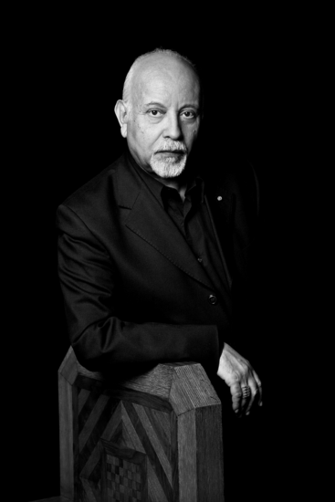Portrait de Mohamed Melehi par Leila Alaoui