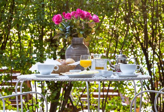 bungalow petit déjeuner marrakech