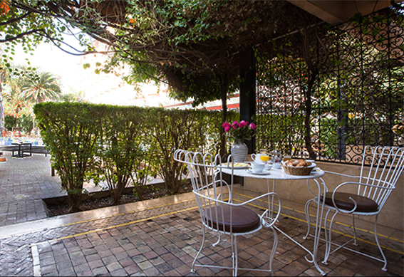 bungalow terrasse marrakech