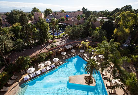 hôtel saadi piscine