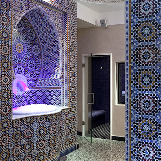 oriental thermae douche experience marrakech