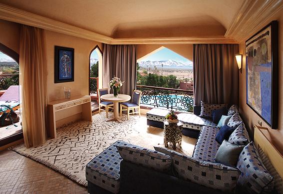 suite deluxe salon palace marrakech