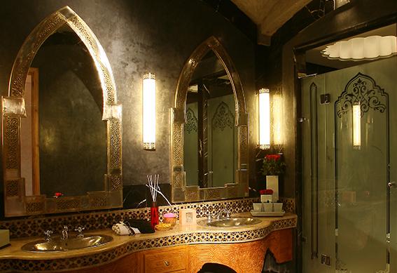 palace suite junior salle de bains marrakech