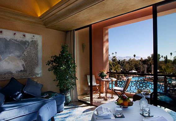 palace suite junior salon marrakech