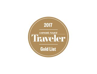 conde nast travaler gold list 2017