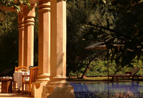 villa 1001 nuits piscine marrakech