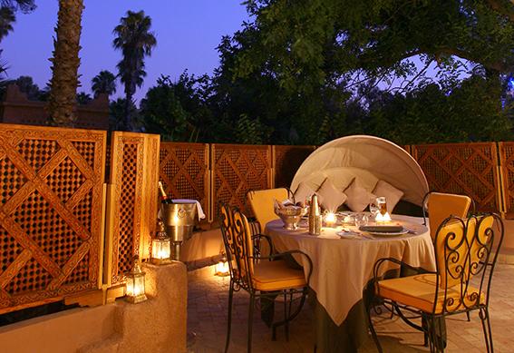 villa amazir terrasse marrakech