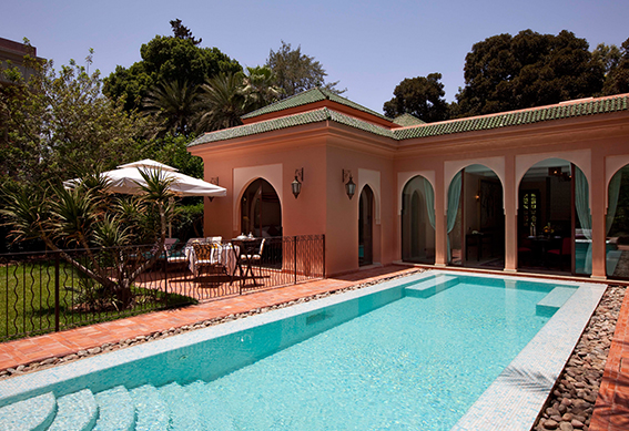 villa andalouse piscine marrakech