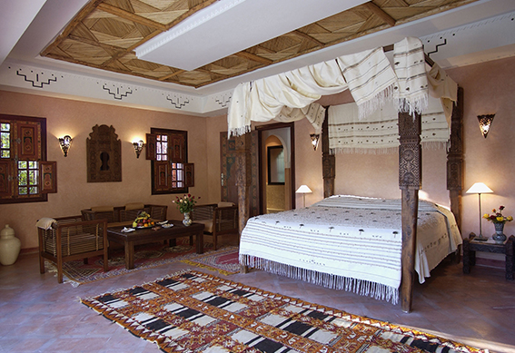 villa berbere chambre marrakech