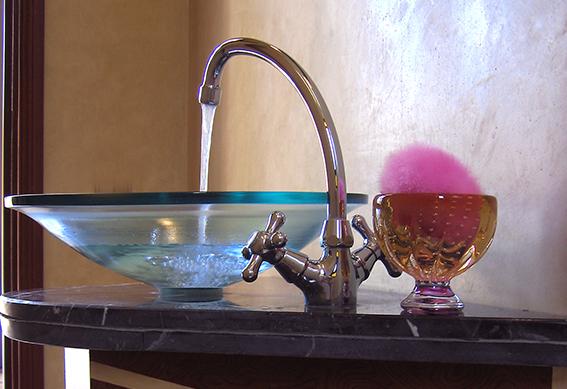 villa casablanca salle de bain marrakech