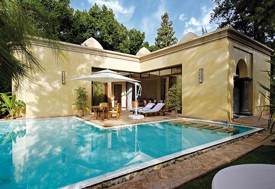 villa casablanca piscine marrakech