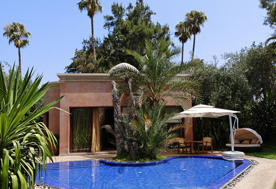 villa favorite piscine marrakech