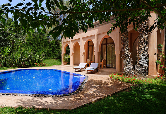 villa sultane piscine marrakech